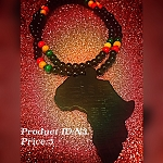Africa Beaded necklace