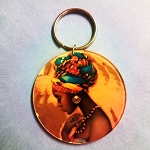 Wrap queen keychain