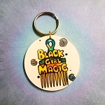 Black girl magic keychain