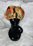 Silk lined bonnet  with drawstring